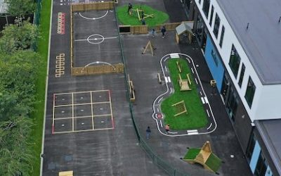 A Perfect New Playground for Gorton Primary School